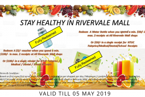 Stay healthy in Rivervale Mall
