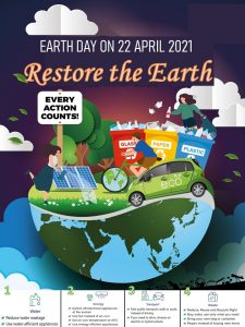 Earth Day on 22 April 2021